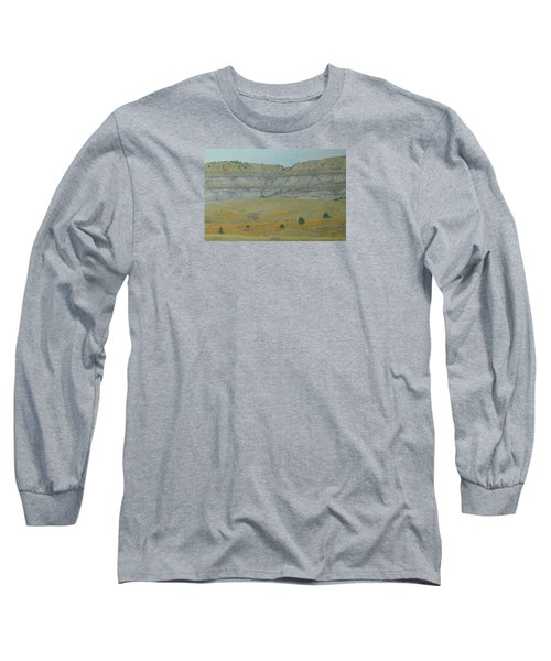Early May On The Western Edge Long Sleeve T-Shirt
