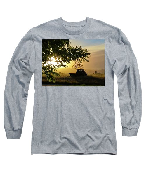 Long Sleeve T-Shirt featuring the photograph Early Morning In Watsonville by Lora Lee Chapman