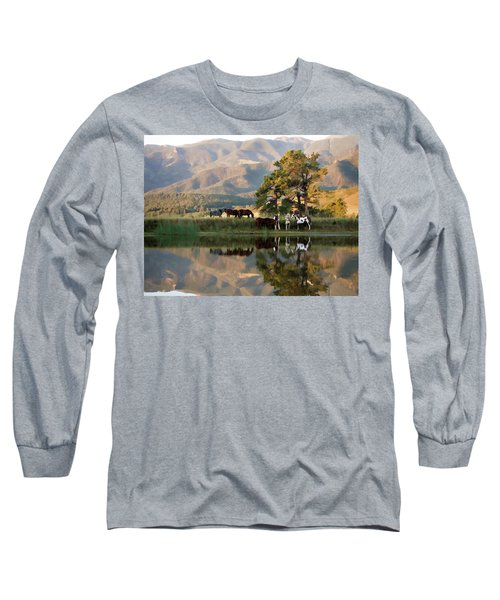 Early Morning Rendezvous Long Sleeve T-Shirt