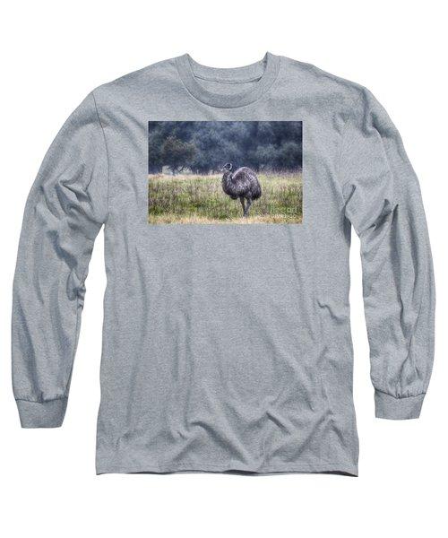 Early Morning Stroll Long Sleeve T-Shirt by Douglas Barnard