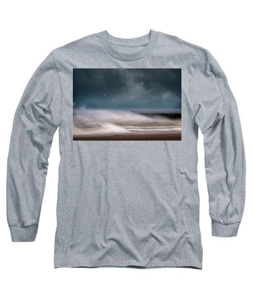 Early Spring At Nauset Beach Long Sleeve T-Shirt
