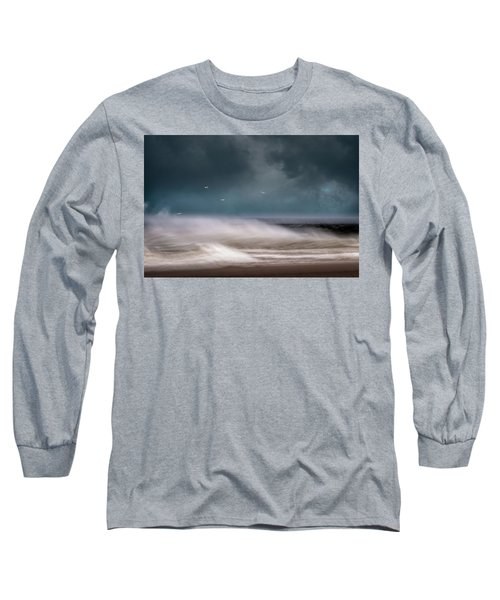 Early Spring At Nauset Beach Long Sleeve T-Shirt