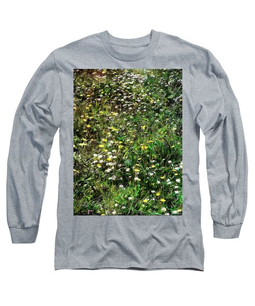 Early Spring Beauty In Umbria Long Sleeve T-Shirt