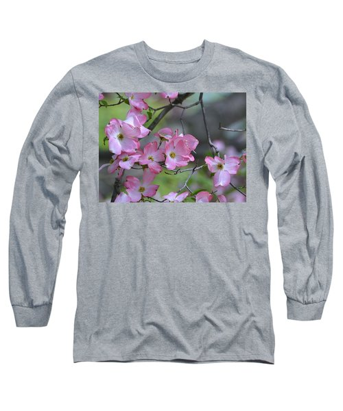 Early Spring Color Long Sleeve T-Shirt by Kathy Eickenberg