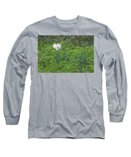 Early Spring Garden Flowers Long Sleeve T-Shirt