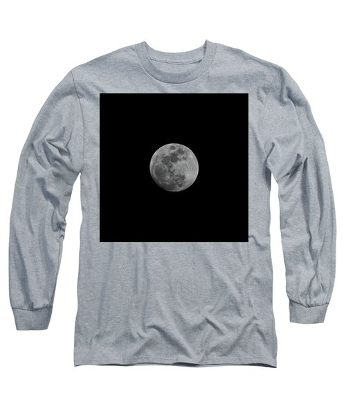 Early Spring Moon 2017 Long Sleeve T-Shirt by Jason Coward