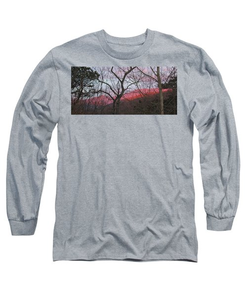 Early Spring Sunrise Long Sleeve T-Shirt by Tammy Schneider