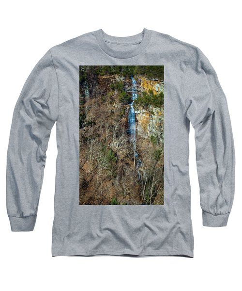 Early  Spring Waterfall  Long Sleeve T-Shirt