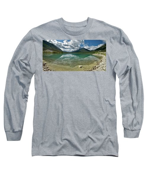 Early Summer Day On Goat Pond Long Sleeve T-Shirt by Sebastien Coursol