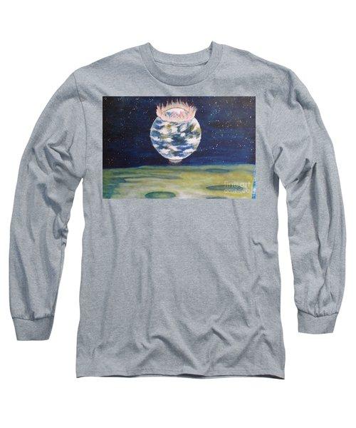 Earth Aura Long Sleeve T-Shirt