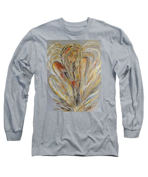 Earth Has Angels Far To Few And Heaven Is Overflowing.... Long Sleeve T-Shirt