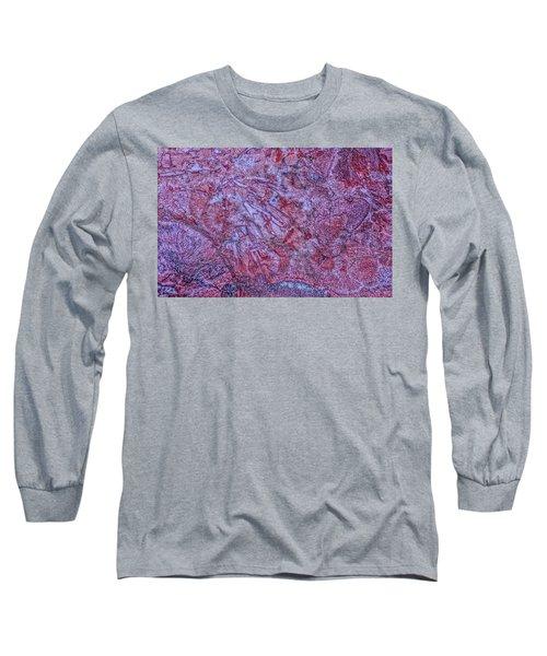 Earth Portrait 257 Long Sleeve T-Shirt