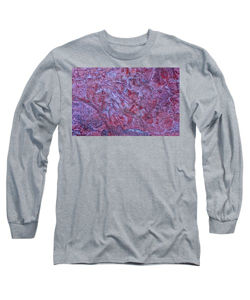 Earth Portrait 257 Long Sleeve T-Shirt