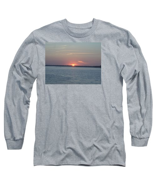 Long Sleeve T-Shirt featuring the photograph East Cut by Newwwman