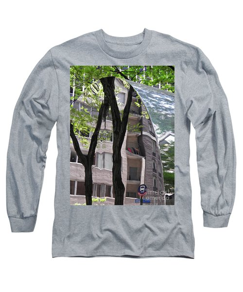 Long Sleeve T-Shirt featuring the photograph East West Gate 4  by Sarah Loft