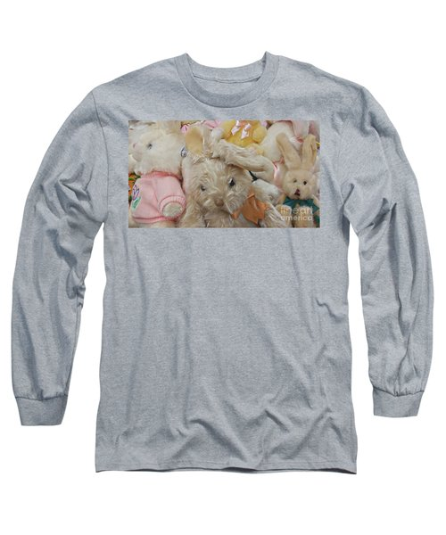 Long Sleeve T-Shirt featuring the photograph Easter Bunnies by Benanne Stiens