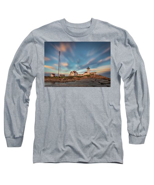 Eastern Point Lighthouse At Sunset Long Sleeve T-Shirt