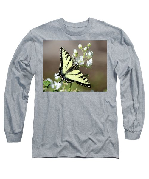 Eastern Tiger Swallowtail Female Long Sleeve T-Shirt