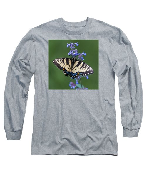 Eastern Tiger Swallowtail Wingspan Long Sleeve T-Shirt