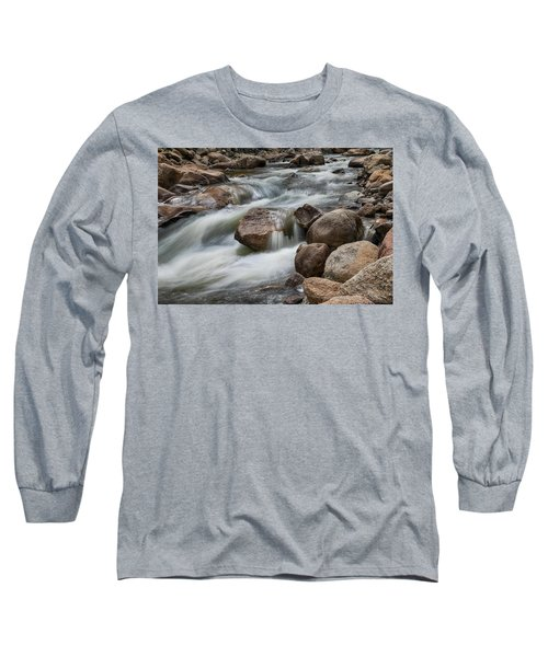 Long Sleeve T-Shirt featuring the photograph Easy Flowing by James BO Insogna