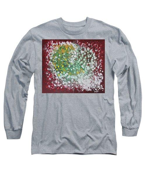 Ebola Contained Long Sleeve T-Shirt by Antonio Romero