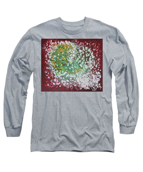 Long Sleeve T-Shirt featuring the painting Ebola Contained by Antonio Romero