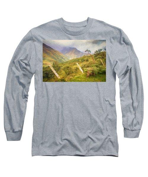 Ecuadorian Mountain Forest Long Sleeve T-Shirt