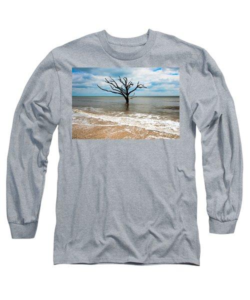 Edisto Island Tree Long Sleeve T-Shirt by Robert Loe
