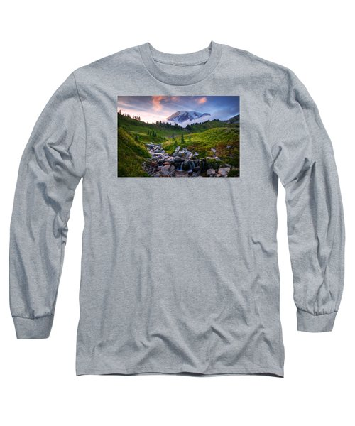 Edith Creek Sunset Long Sleeve T-Shirt