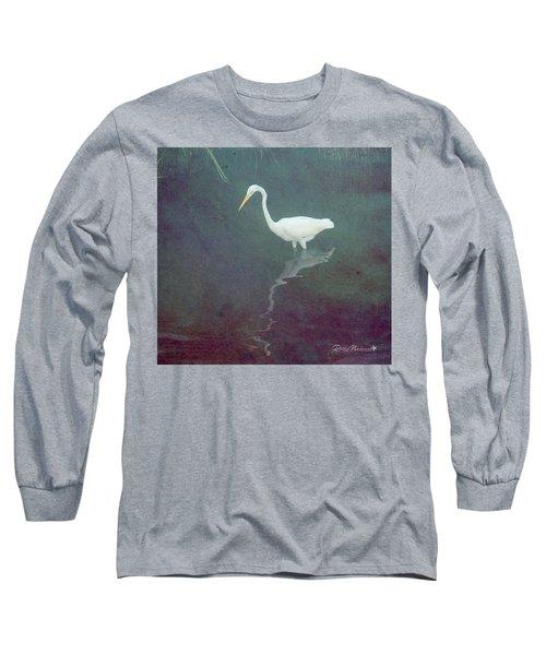Egret Dreams Long Sleeve T-Shirt