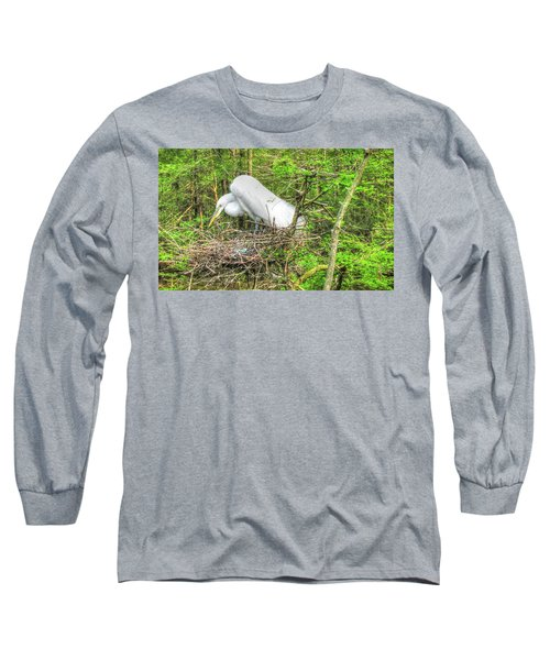 Egrets And Eggs Long Sleeve T-Shirt