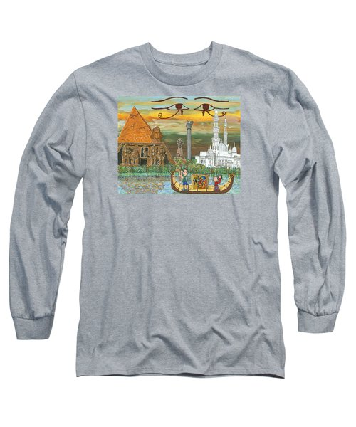 Egypt   Jan Long Sleeve T-Shirt