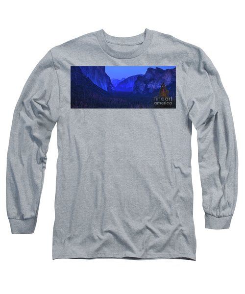 El Capitan Blue Hour Long Sleeve T-Shirt