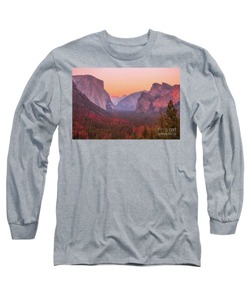 El Capitan Golden Hour Long Sleeve T-Shirt