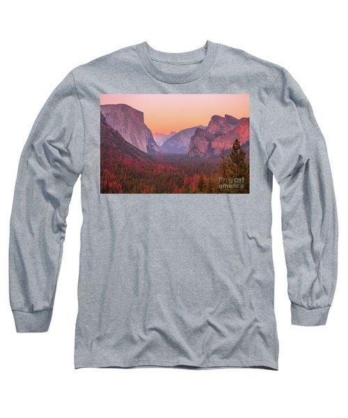 El Capitan Golden Hour Long Sleeve T-Shirt