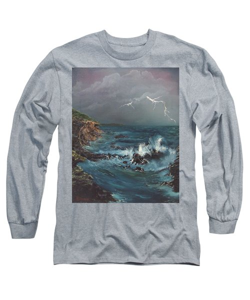 Electric Sky Long Sleeve T-Shirt