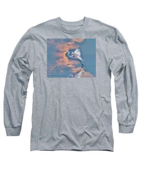 Long Sleeve T-Shirt featuring the photograph Elegance by Brian Tarr