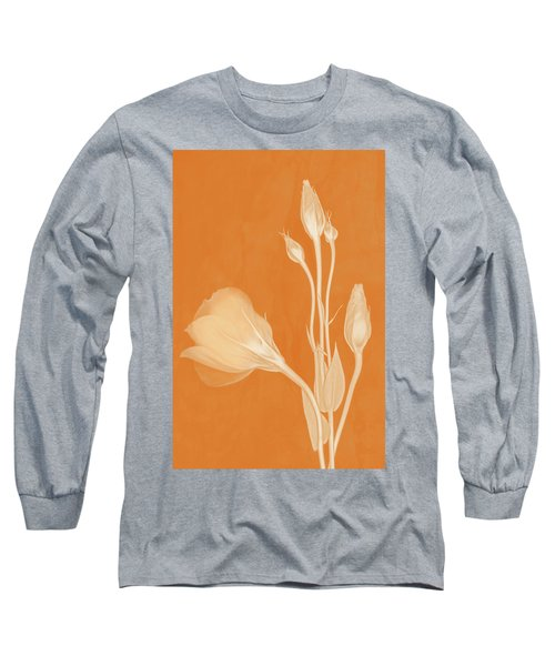 Elegance In Apricot Long Sleeve T-Shirt