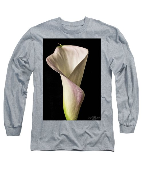 Elegant Calla Long Sleeve T-Shirt