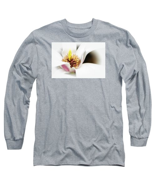 Elegant Magnolia Long Sleeve T-Shirt
