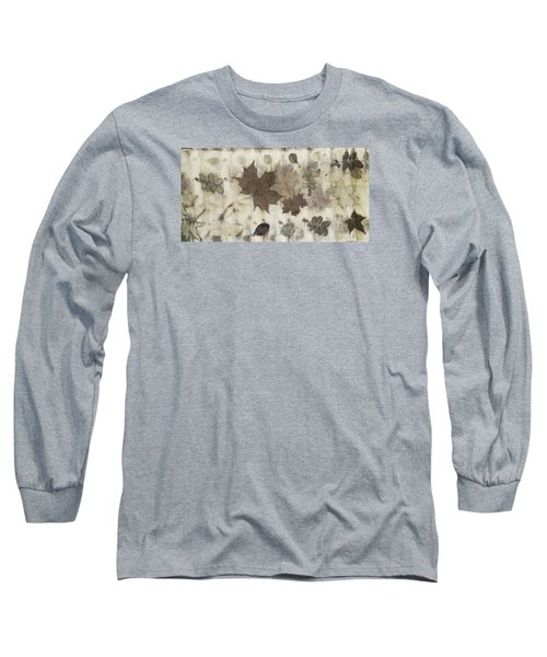 Elements Of Autumn Long Sleeve T-Shirt by Carolyn Doe