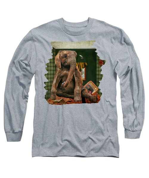 Elephant In The Room Long Sleeve T-Shirt