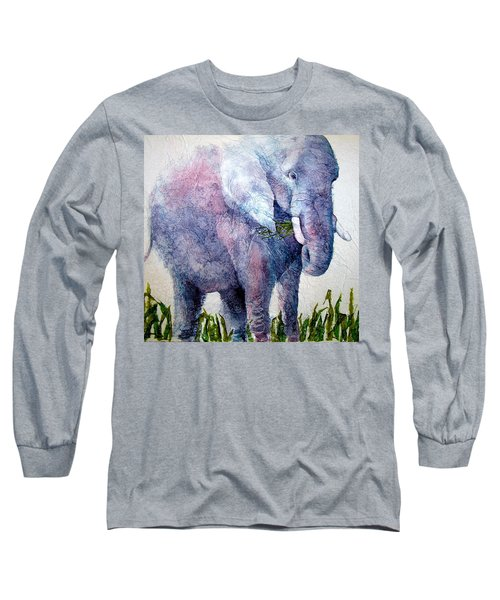 Elephant Sanctuary Long Sleeve T-Shirt