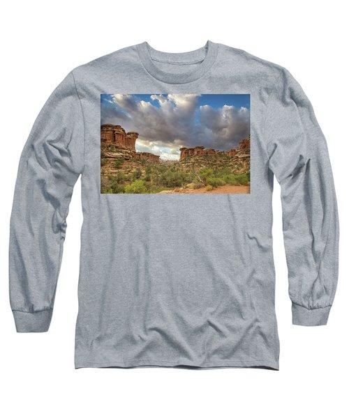 Elephant Sunrise Long Sleeve T-Shirt