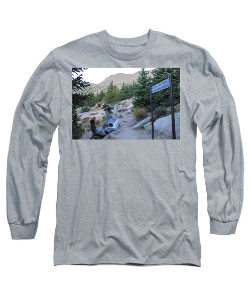 Long Sleeve T-Shirt featuring the photograph Elevation 11,500 by Christin Brodie