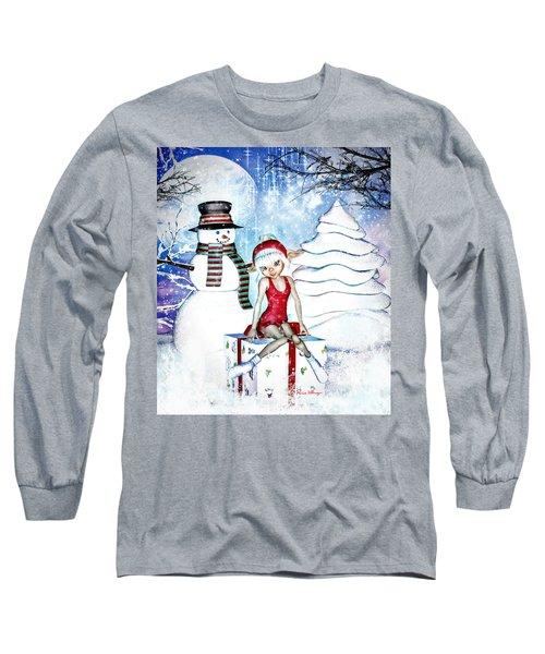 Elfin Winter Holidays Long Sleeve T-Shirt