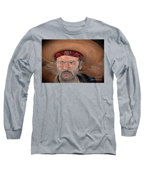 Eli Wallach As Tuco In The Good The Bad And The Ugly Version II Long Sleeve T-Shirt