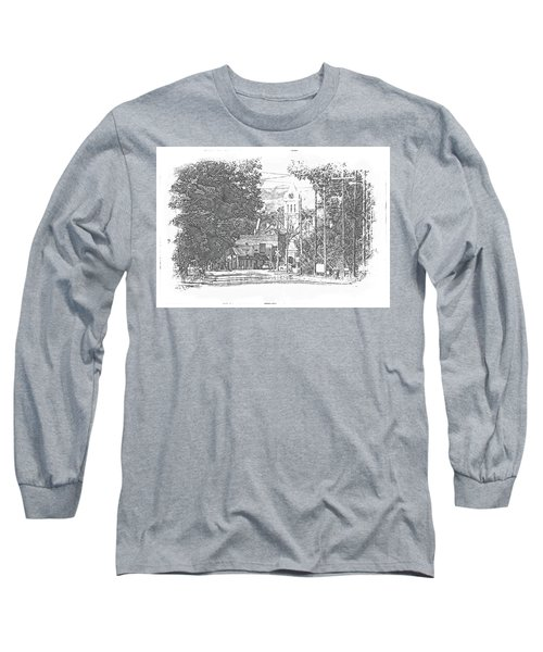Long Sleeve T-Shirt featuring the photograph Ellaville, Ga - 1 by Jerry Battle