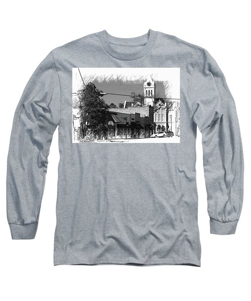 Long Sleeve T-Shirt featuring the photograph Ellaville, Ga - 3 by Jerry Battle