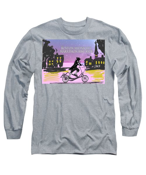 elliptigo meets the Midnight Ride Long Sleeve T-Shirt